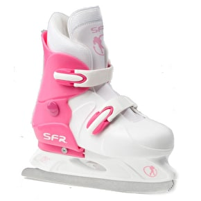 SFR Hardboot Adjustable Ice Skates - Pink